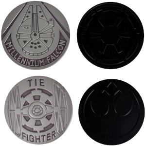 Dessous de Verre en Métal Star Wars (Lot de 4)