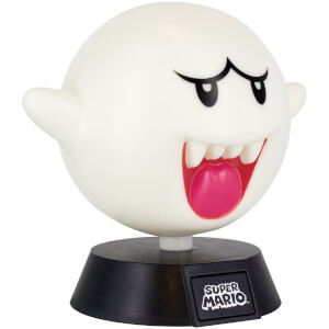 Super Mario Boo Icon Light