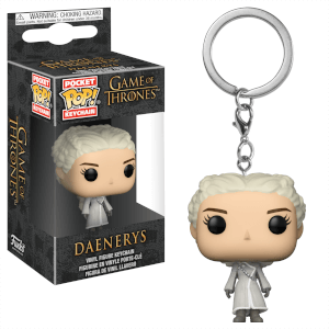 Game of Thrones Daenerys White Coat Pocket Pop! Keychain