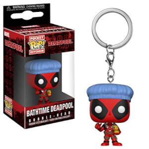 Deadpool Playtime Bath Time Deadpool Pop! Vinyl Keychain