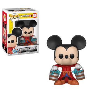 Figurine Pop! Mickey L'Apprenti Sorcier 90 ans de Mickey Disney