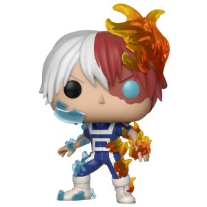 my hero academia todoroki pop vinyl figure pop in a box us