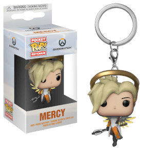 Overwatch Mercy Pop! Vinyl Keychain