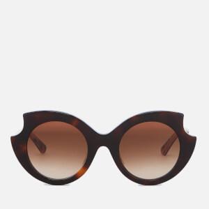 McQ Alexander McQueen Women's Oversized Sunglasses - Havana/Black
