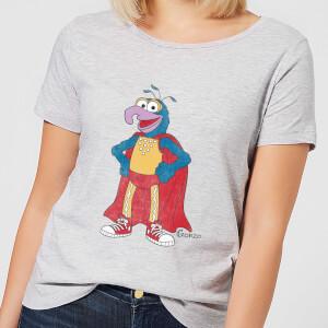 T-Shirt Femme Gonzo Muppets Disney - Gris