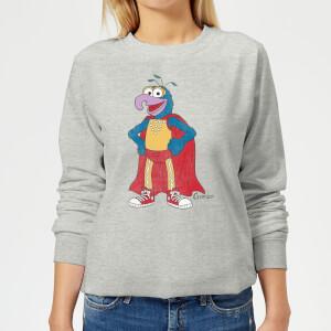 Sweat Femme Gonzo Muppets Disney - Gris