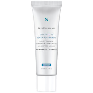 Soin de nuit exfoliant à l'acide glycolique Glycolic 10 Renew Overnight SkinCeuticals 50 ml