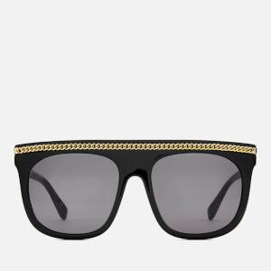 Stella McCartney Women's Chain Sunglasses - Black/Smoke