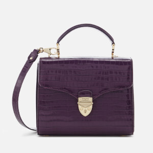 Aspinal of London Women's Mayfair Midi Tote Bag - Amethyst