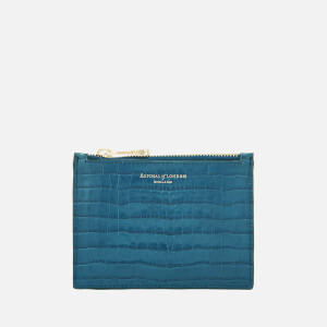 Aspinal of London Women's Essential Pouch Small - Topaz