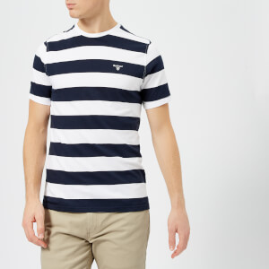 Barbour Men's Bass Stripe T-Shirt - White