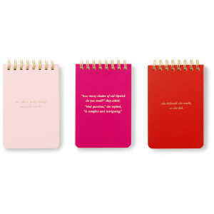 Kate Spade Spiral Notepad Set - She Statements