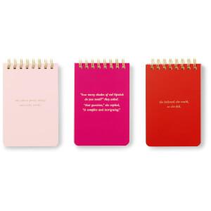Kate Spade Spiral Notepad Set - She Statements