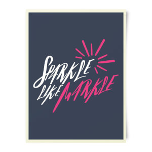 Sparkle Like Markle Art Print