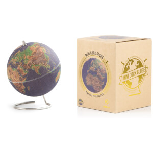 Small Coloured Cork Globe