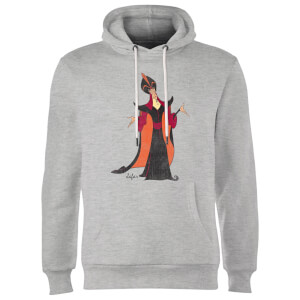 Sweat à Capuche Homme Jafar Aladdin Disney - Gris