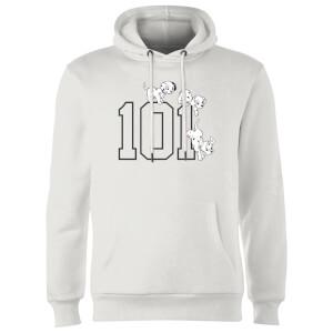 Sudadera Disney 101 Dálmatas 101 - Hombre/Mujer - Blanco