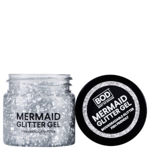 BOD Mermaid Body Glitter Gel - Silver