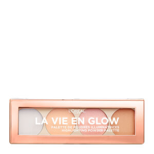 L'Oréal Paris La Vie En Glow Highlighting Powder Palette – Cool Glow 10 g