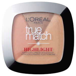 L'Oréal Paris True Match Powder Glow Illuminating Highlighter - Golden Glow 9g