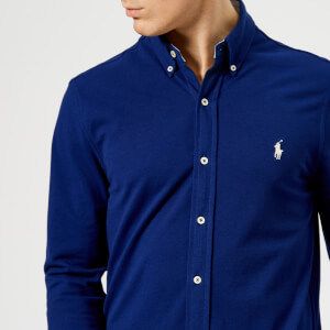 Polo Ralph Lauren Men's Featherweight Long Sleeve Shirt - Blue
