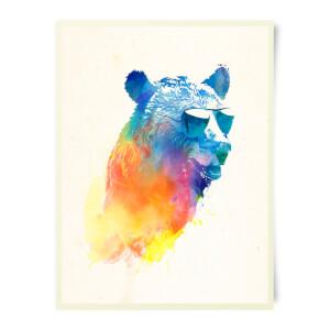 Robert Farkas Sunny Bear Art Print