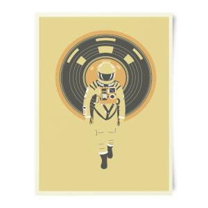 Robert Farkas DJ Hal 9000 Art Print