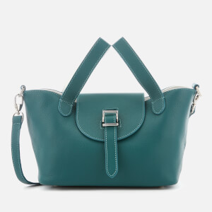 meli melo Women's Thela Mini Tote Bag - Green/White