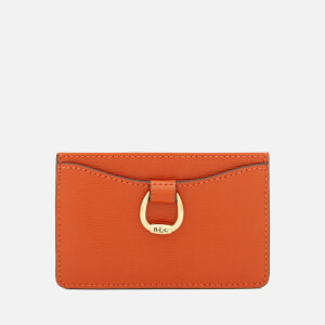 Lauren Ralph Lauren Women's Bennington Mini Card Case - Burnt Orange