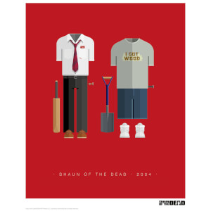 Affiche Shaun Of The Dead