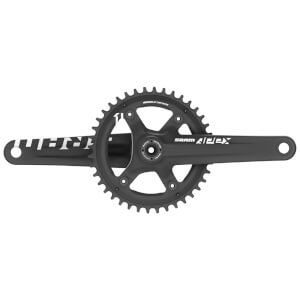 SRAM Apex1 GXP Chainset - Black-White