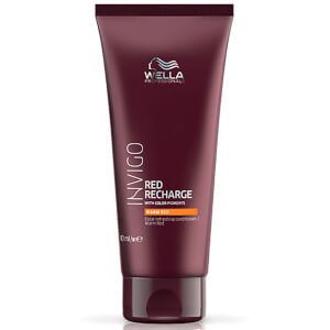 Acondicionador potenciador del color Warm Red INVIGO de Wella Professionals 200 ml