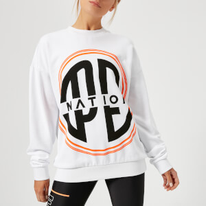 P.E Nation Women's Turbo Sweatshirt - White
