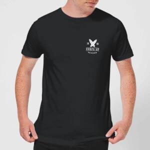 T-Shirt Homme Surfs Up Native Shore - Noir