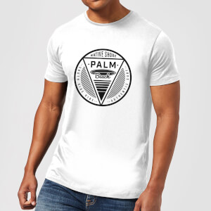 Native Shore Men's Palm Beach T-Shirt - White