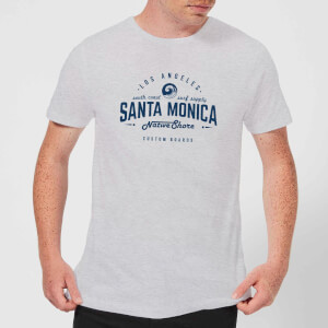 Camiseta Native Shore Santa Monica - Hombre - Gris