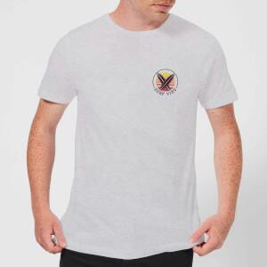 T-Shirt Homme Surfs Up Native Shore - Gris