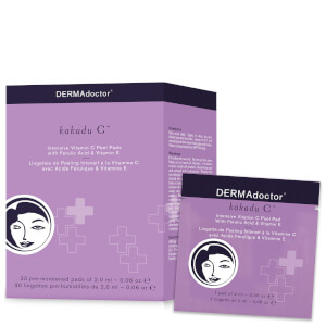 DERMAdoctor Kakadu C Intensive Vitamin C Peel Pad with Ferulic Acid and Vitamin E
