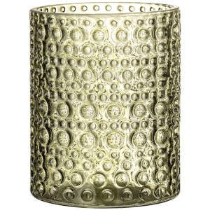 Bloomingville Glass Votive - Green