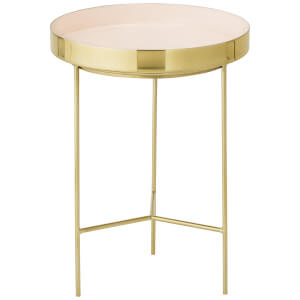 Bloomingville Aluminium Tray Table - Rose