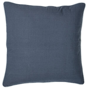Bloomingville Cotton Cushion - Blue
