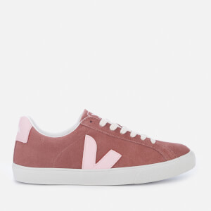 Veja Women's Esplar Suede Low Top Trainers - Dried Petal