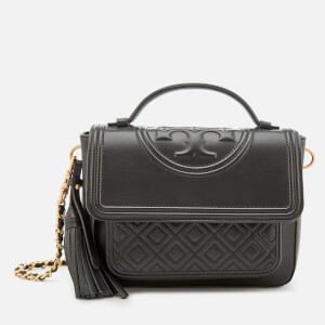 Tory Burch Women's Fleming Satchel - Black
