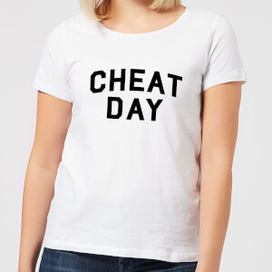 Cheat Day Women's T-Shirt - White