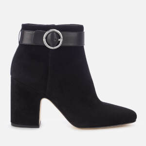 MICHAEL MICHAEL KORS Women's Alana Suede Heeled Ankle Boots - Black