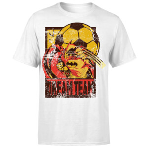DC Comics Batman Dream Team Punch T-Shirt - White