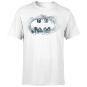 DC Comics Batman Spray Logo T-Shirt - White
