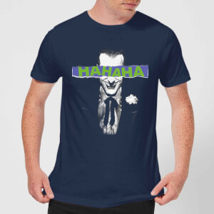 T-Shirt DC Comics Batman Joker The Greatest Stories - Navy