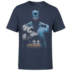 DC Comics Batman Close Up T-Shirt - Navy