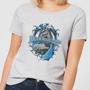 DC Comics Batman DK Knight Shield Women's T-Shirt - Grey